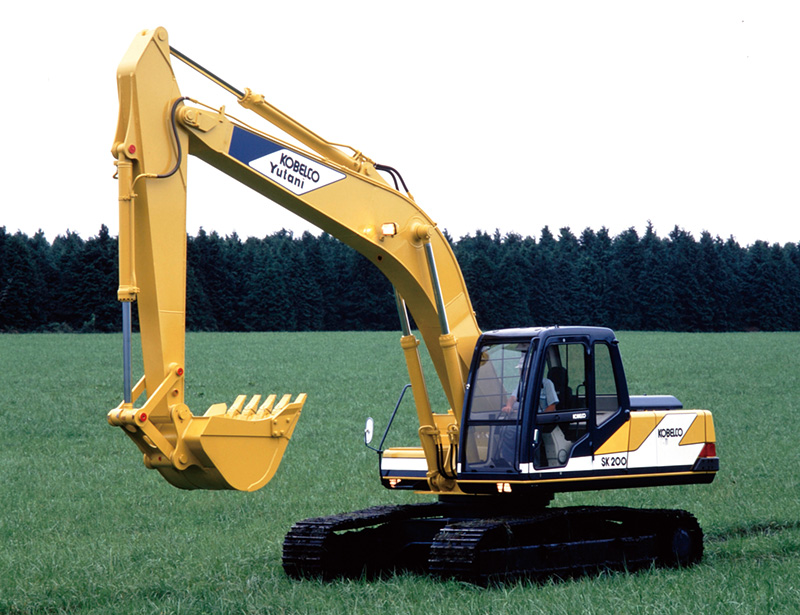 History | Company | Kobelco Construction Machinery Global Website